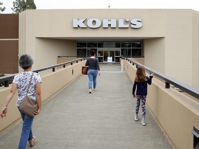 Devuelva sus compras no deseadas de Amazon a Kohl's