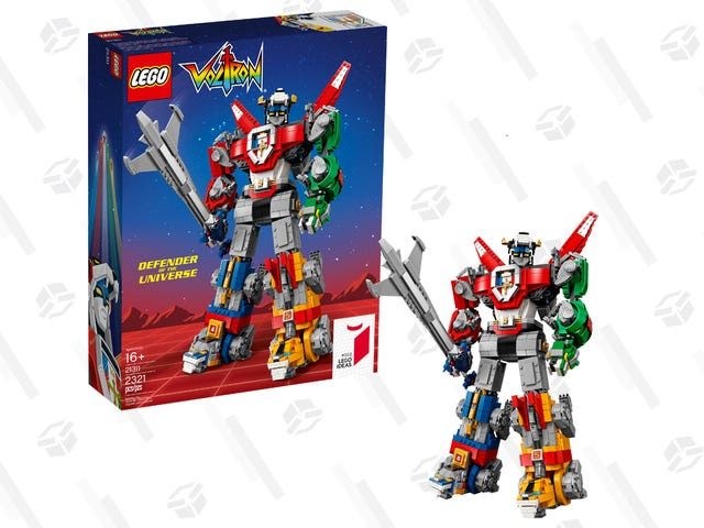 Αυτό το εκπληκτικό σύνολο LEGO Voltron είναι πέντε LEGO σε ένα για $ 140
