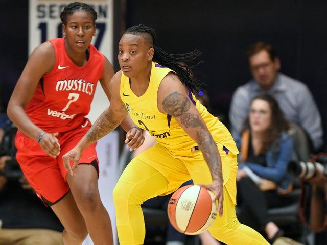 The WNBA Players Association Is Contesting Riquna Williams's Domestic-Violence Suspension