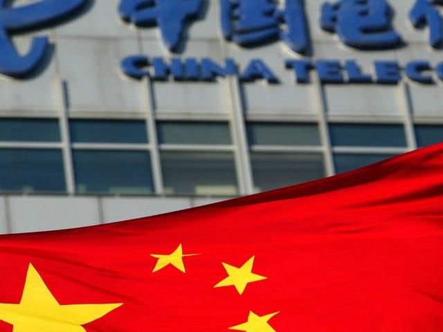 China Telecom engole enorme quantidade de tráfego móvel europeu por mais de duas horas