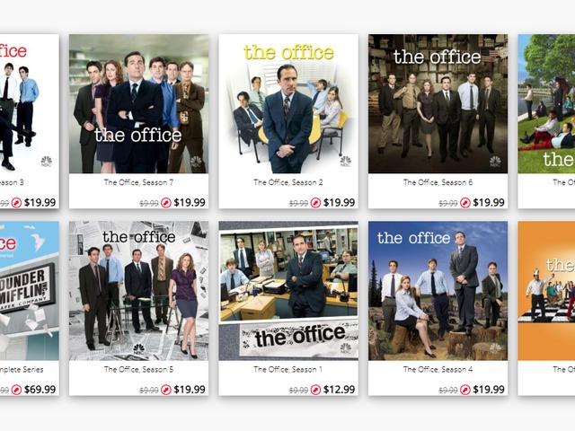 Отримати повідомлення, коли цифрові фільми і телепередачі продаються