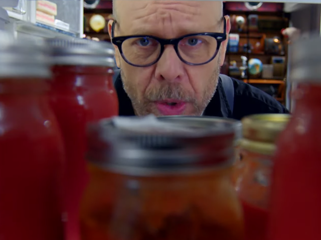 The first full episode of Good Eats: The Return is up on YouTube right now