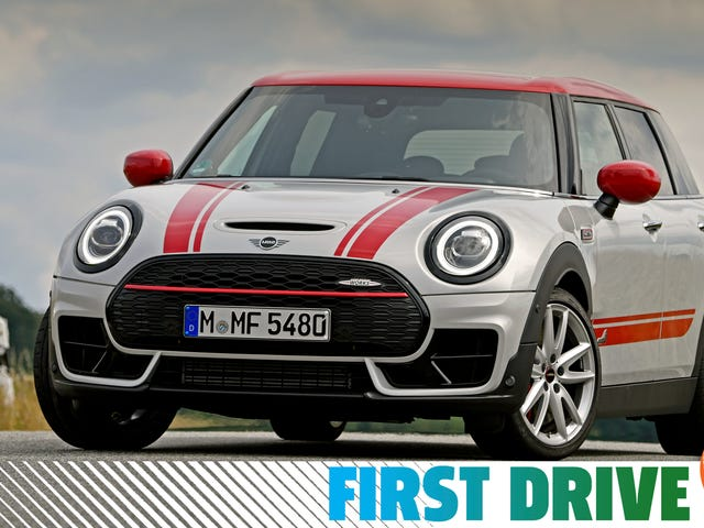 With 306 HP, The 2020 Mini JCW Clubman Becomes A Legit Hot Hatchback With Barn Doors