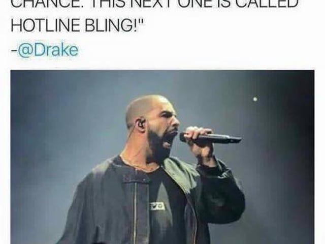 Drake goes hard