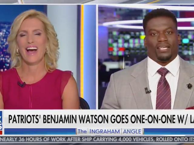 Laura Ingraham Schooled By Benjamin Watson In Deeply Satisfying Fox News Segment