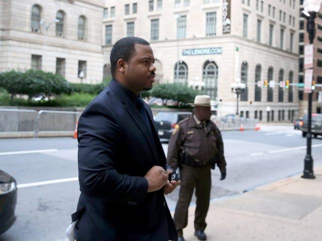 Baltimore Officer vidner om, at Freddie Gray bad om hjælp under dødelig Van Ride