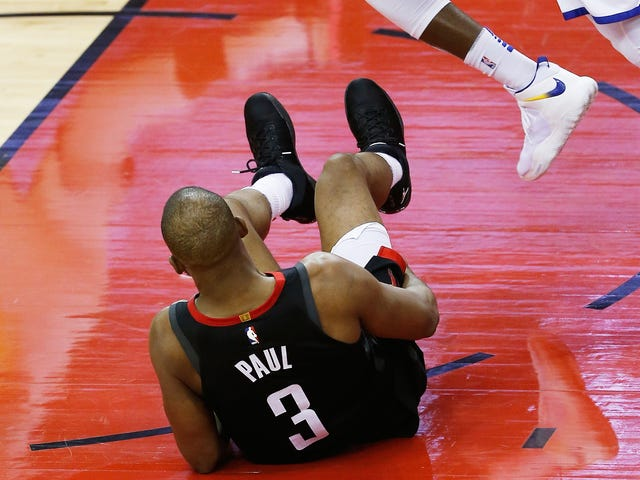 The Most Painful Thing For Chris Paul Is Having To Watch