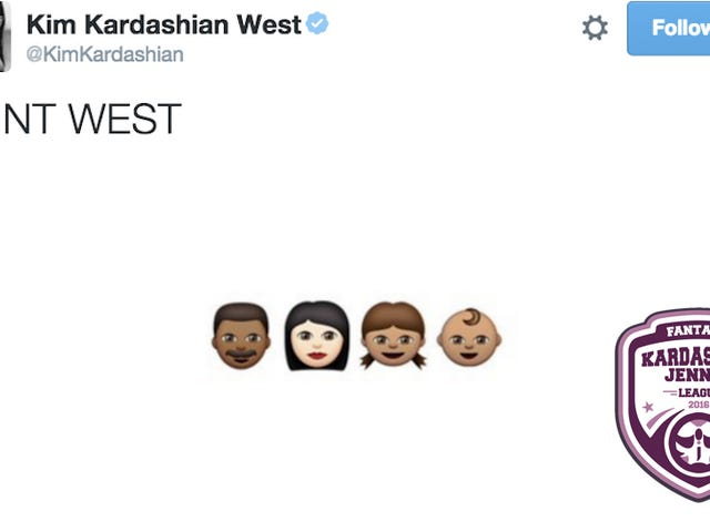 Fantasy Kardashian-Jenner League, Week 10: KimYe Christ Hath Risen, Waiver Wire Ensues
