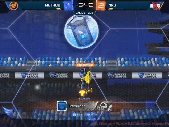 Egna mål händer, även vid <i>Rocket League</i> Championship Series Finals