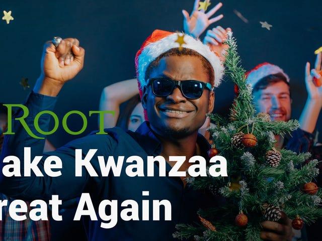 Watch: 'Make Kwanzaa Great Again' Campaign Video