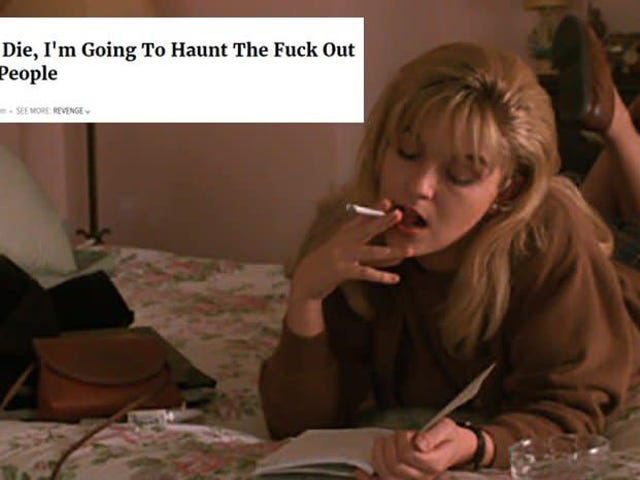 Give yourself the present of Twin Peaks as Onion headlines