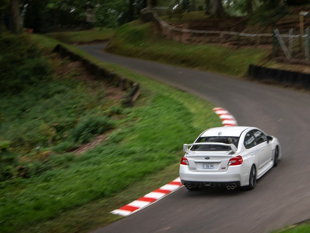 What Driving A Hillclimb Does To Your Brain