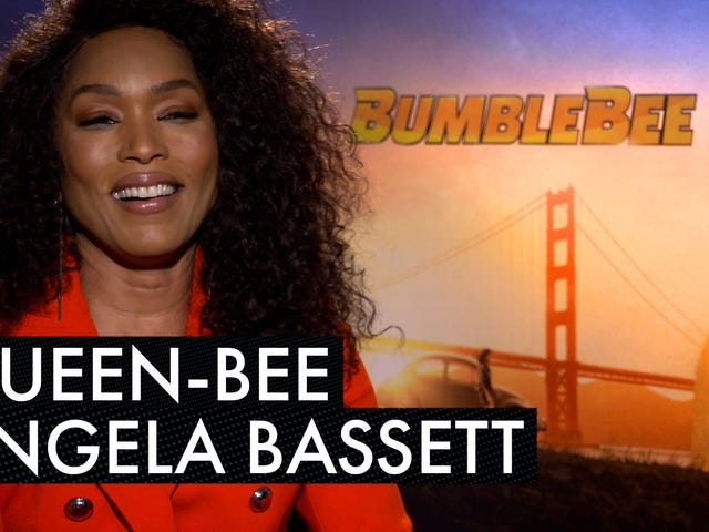 Angela Bassett Finishes Another Huge Year as the First Female Robot in <i>Transformers </i>Franchise Flick, <i>Bumblebee</i>