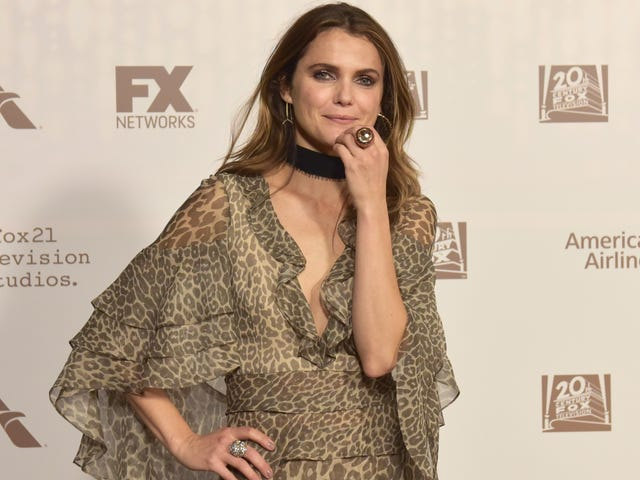 The first look of Keri Russell's character in Star Wars: Episode IX is here