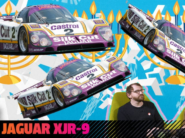 Let Me Tell You About A Real Howling Thundercat: The Jaguar XJR-9