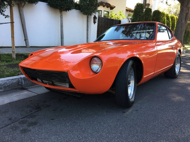 At $19,500, Will This Restored 1972 Datsun 240Z V8 Restore Your Faith?