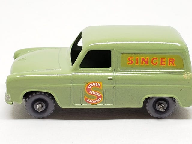 [REVIEW] Lesney Matchbox Ford Thames Van