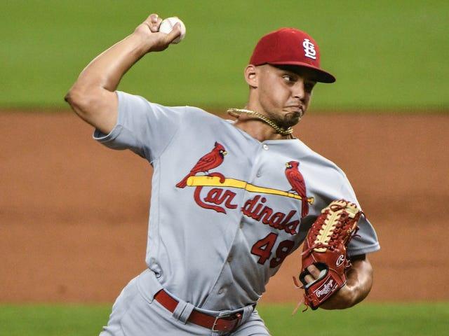 Cardinals Flamethrower Jordan Hicks Shredded His Pitching Elbow
