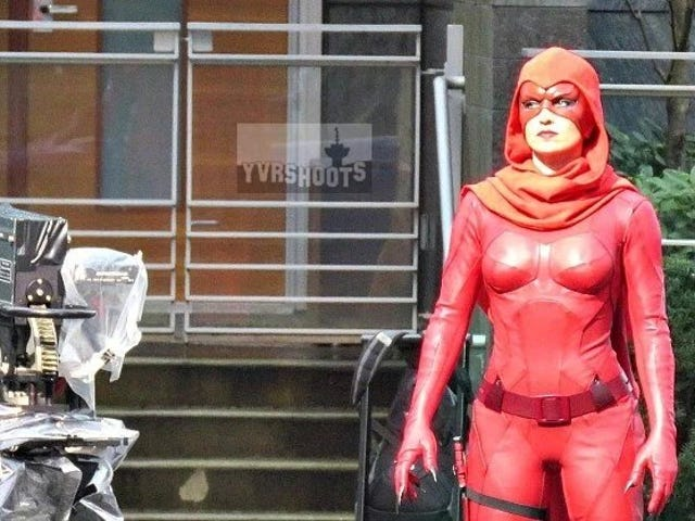 "First look at The Crimson Fox from the ""Powerless"" pilot"