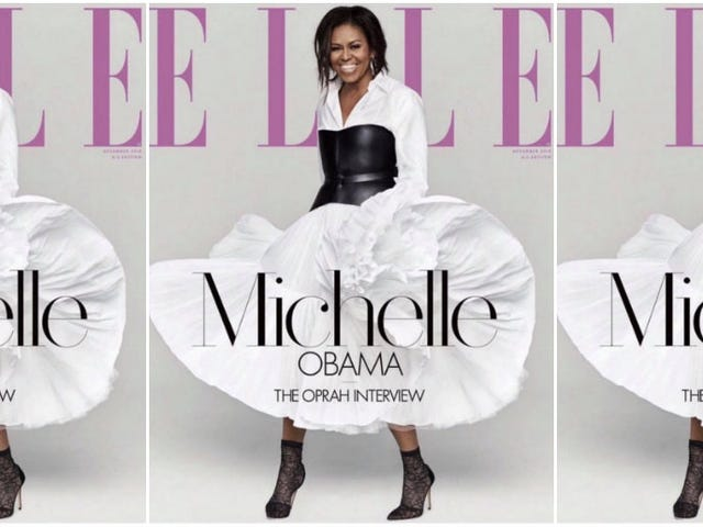 'I Like Me': Our Forever First Lady Talks to Oprah for Elle Magazine