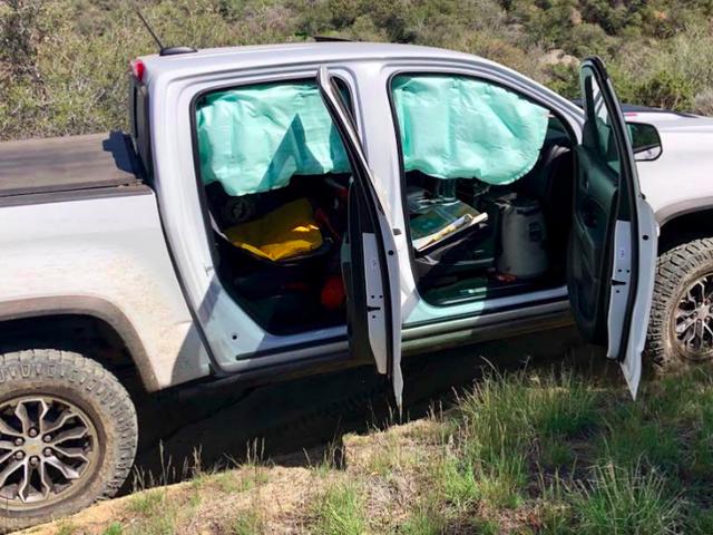 Chevrolet kommer att fixa Colorado ZR2s för att förhindra airbags från att distribuera off-road