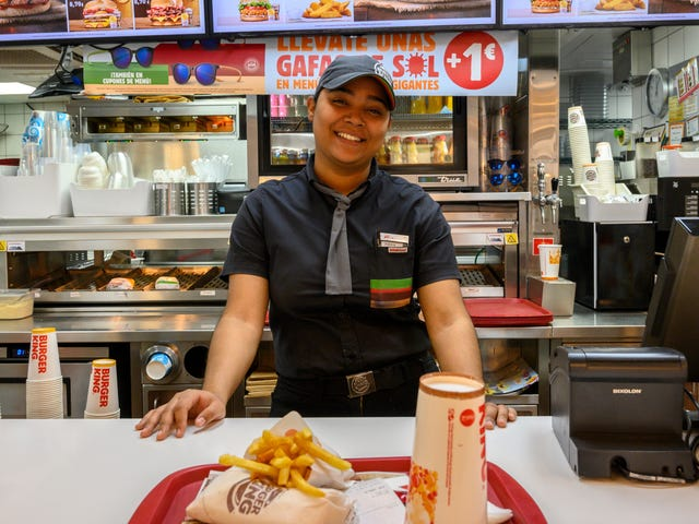 Spanish government rules Burger King's uniforms are sexually discriminatory