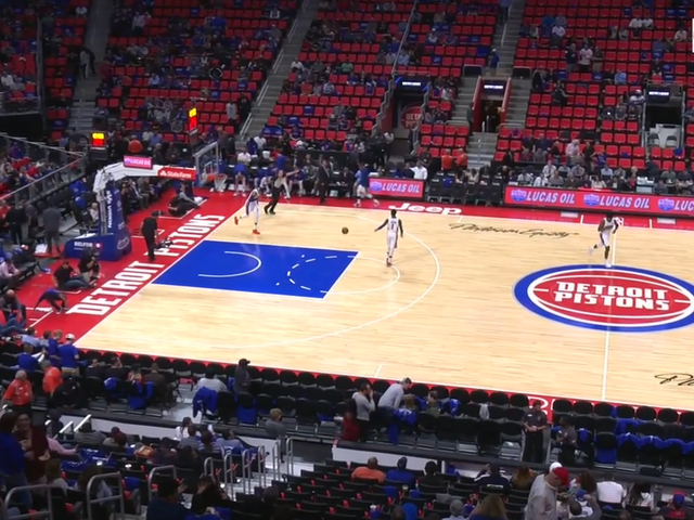 The Pistons Couldn't Give Tickets To Their First Game At Detroit's Dumb New Arena Away