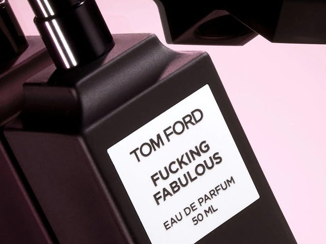 "Excuse Me, Tom Ford. Tell Us Next Time You Drop a $310 Perfume Called ""Fucking Fabulous"""