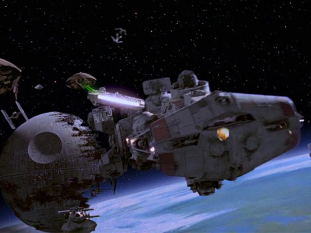 O navio Star Wars Quase todo mundo esquece