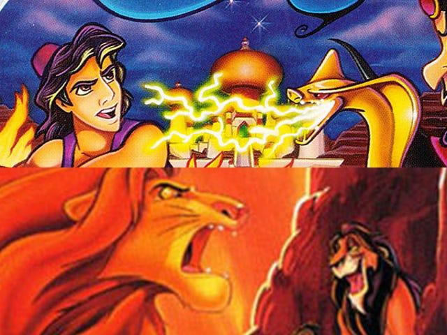 En remaster av Disneys klassiska Lion King och Aladdin-spel kommer i höst