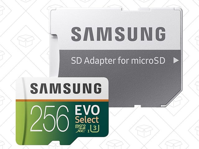 Save Switch Games, GoPro Footage, and More With Your Choice of Discounted Samsung MicroSD Card