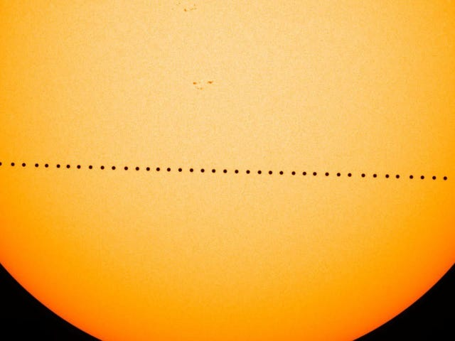 How to Watch Mercury's Transit Across the Sun This Morning