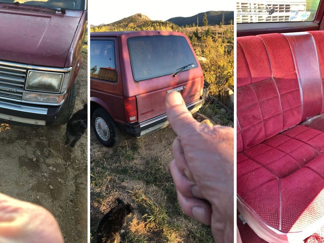 What Are We Going To Do About This High-Mile $1,500 Plymouth Voyager With A Five-Speed And The Best Interior
