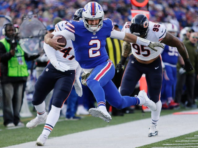At Least Nathan Peterman Led The Bills In Rushing?
