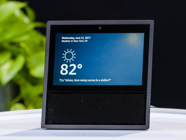 Save $70 On Amazon's Touchscreen-Equipped Echo Show