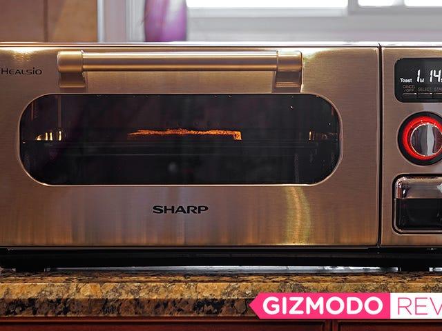 私のステーキがねっとりしていても、私はシャープの新しい蒸気で動くオーブンを愛します