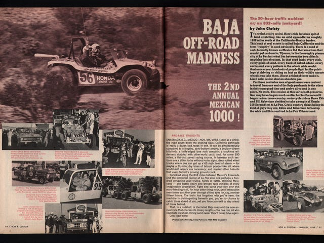 The 1968 Baja 1000 was crazier than you could imagine.