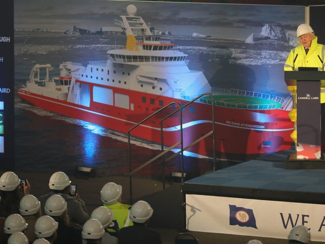 Antarctic Exploration Vessel Which Should Be Named Boaty McBoatface But Tragically Isn't Launches