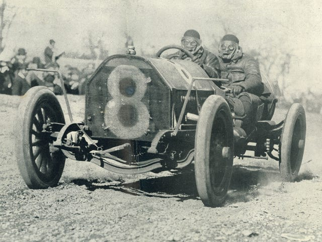 America's First Great Car Race Happened On Roads People Still Use Every Day