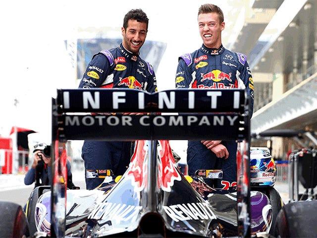 Infiniti sai da Red Bull Racing como equipe muda para motores Renault da marca TAG Heuer