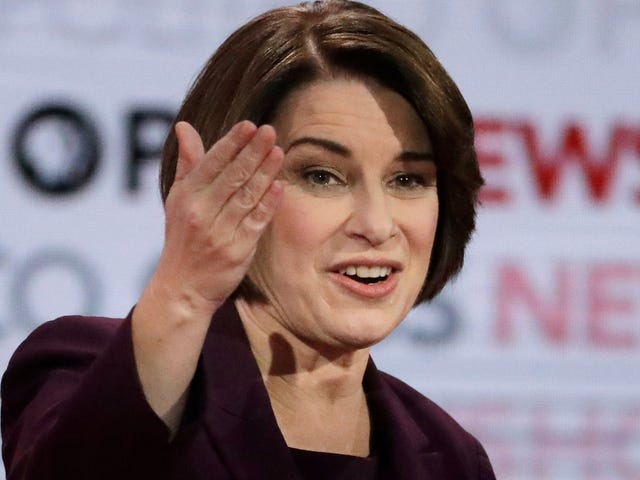 Amy Klobuchar Might Tell Us About UFOs