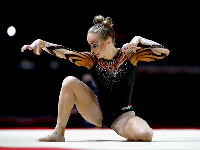 Dutch Gymnast Goes Full-Blown Cat At The European Championships