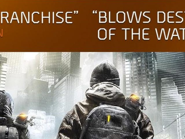 <i>The Division</i>'s New Anti-<i>Destiny</i> Advertisement Is Incredibly Misleading