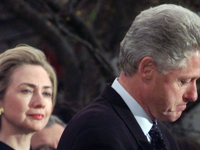 Hillary Clinton Claims Clinton's Affair With Monica Lewinsky Is 'Absolutely Not' Abuse of Power