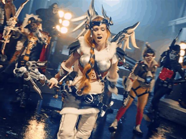 <i>Overwatch</i> Cosplay Rap βίντεο είναι ακριβώς το καλύτερο