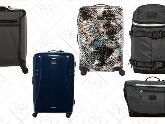 Save Hundreds on TUMI Luggage, Backpacks, Messenger Bags, and More