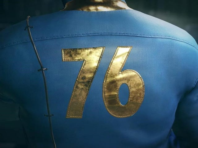 We're streaming the Fallout 76 beta right now on Twitch