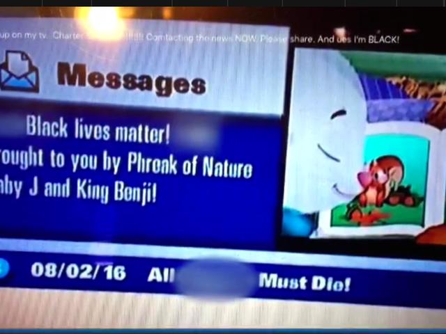 Thông điệp phân biệt chủng tộc được gửi đến khách hàng thuê cáp ở Bắc Texas