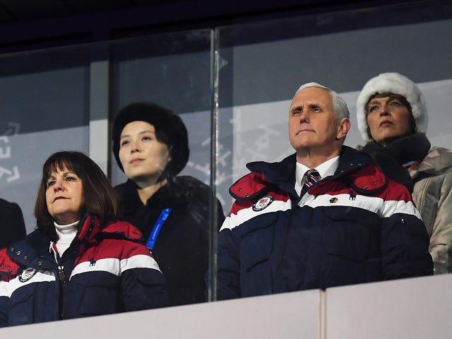 Mike Pence Doesn't Bat an Eye Bashing North Korea's Military Parade While Praising Donald Trump's Parade