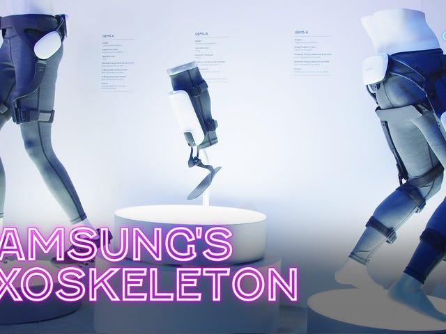 Samsung Let Me Wear a Exoskeleton, dan saya menyukainya